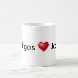 Virgos Liebe Jazz Kaffeetasse