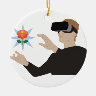 Virtuelle Realität Keramik Ornament