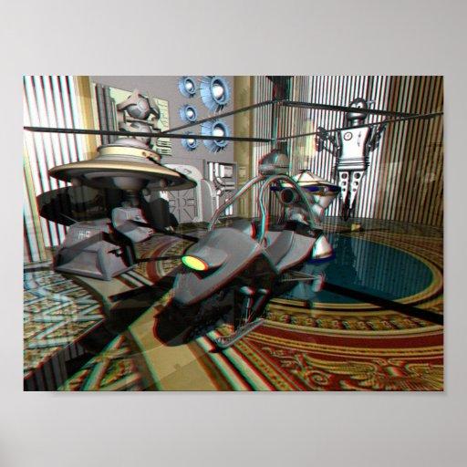 Virtuelles Sciencefiction-Museum Plakatdrucke
