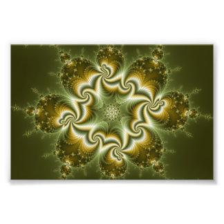 Virus-Veränderung Fotodruck