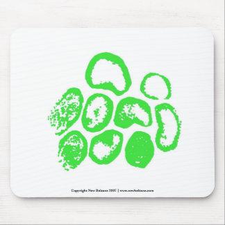 Virusmotiv - grüne Version. Fertigen Sie besonders Mousepads