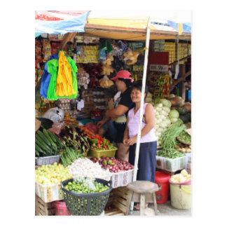 Visayan-Gemischtwarenladen Postkarte