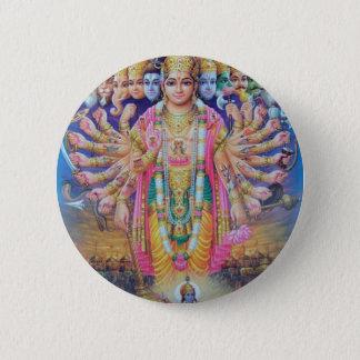 Vishnu Runder Button 5,1 Cm