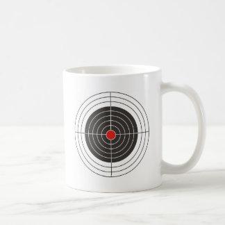 Visieren Sie Schießen für Gewehr-, Gewehr- oder Kaffeetasse