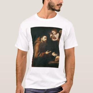 Vision von St Francis von Assisi T-Shirt