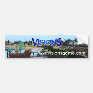 Visions-Autoaufkleber 2017 Autoaufkleber