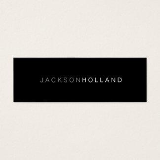 Visitenkarte | 2 Ton-Schwarzes
