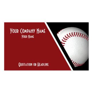 Visitenkarte-Baseball