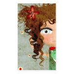 Visitenkarte Damen-Beautiful Eye Hair Grunge