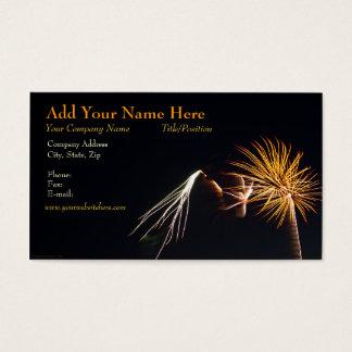 Visitenkarte der Feuerwerks-P0538