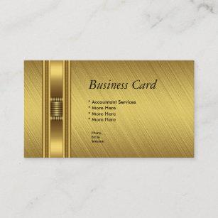 Gelbes Gold Visitenkarten Zazzle De