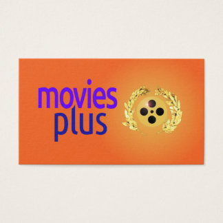 Visitenkarte für Filme plus Filmemacher