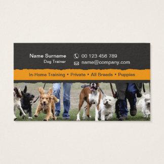 Visitenkarte für Hundetrainer