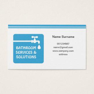 Visitenkarte für Klempner u. Heimwerker
