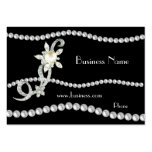 Visitenkarte-Geschäfts-verzierte Perlen-Juwelen