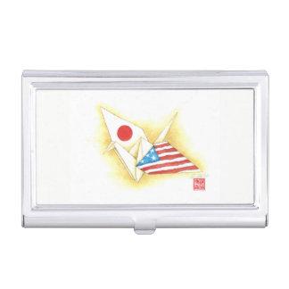 Visitenkarte-Kasten ~ Japan-USAfreundschaft Visitenkarten Etui