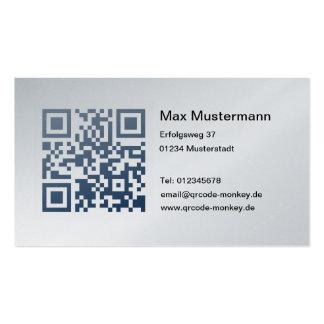 Visitenkarte, platin (individuell gestaltbar) visitenkarten