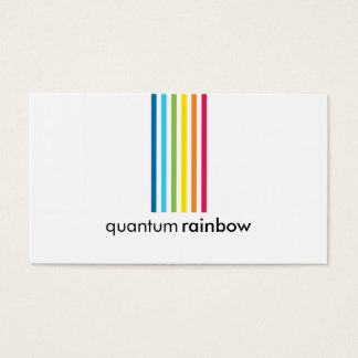 VISITENKARTE:: rainbowed Streifen 1 Visitenkarte