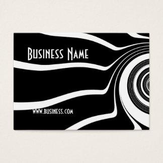 Visitenkarte-schwarze u. weiße visitenkarte