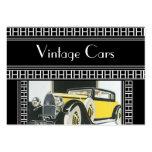Visitenkarte-Vintage Autos