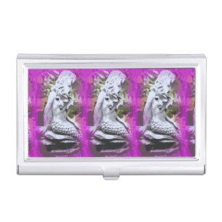 Visitenkartehalter mit drei Meerjungfrauen Visitenkarten Dose