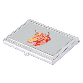 Visitenkartenhalter symbolisch Visitenkarten-Behälter