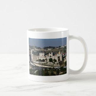 Vista Para Torre de Davi e O Domo DA Rocha Kaffeetasse