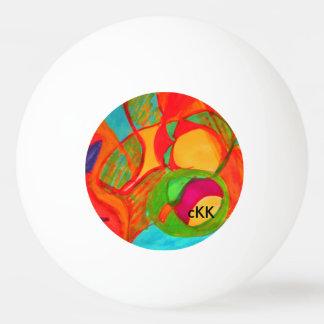 Visuell Tischtennis Ball
