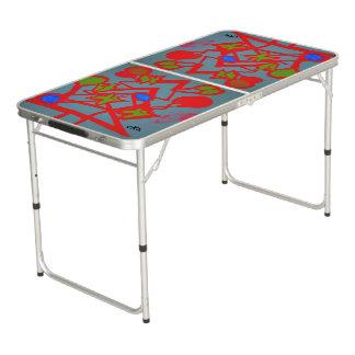 Visuelle Künste 815 Beer Pong Tisch