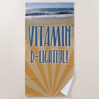 Vitamin D für herrliches Strandtuch