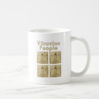 Vitruvian Leute Kaffeetasse