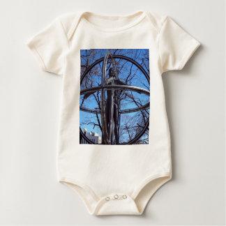 Vitruvian Mann Baby Strampler