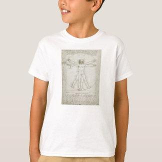 Vitruvian Mann durch Leonardo da Vinci T-Shirt