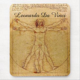 Vitruvian Mann-LEONARDO Da Vinci Mousepad