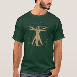 vitruvian Mann - Leonardo da Vinci T-Shirt
