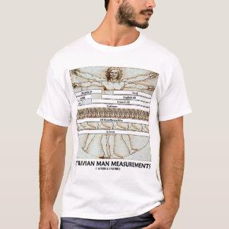 Vitruvian Mann-Maße (Leonardo da Vinci) T-Shirt