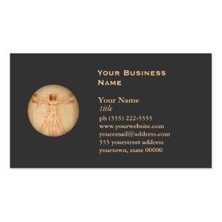 Vitruvian Mann-Visitenkarte Visitenkarten