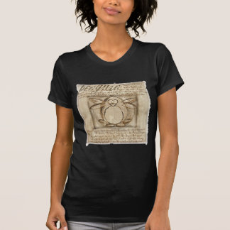 Vitruvian Pinguin T-Shirt