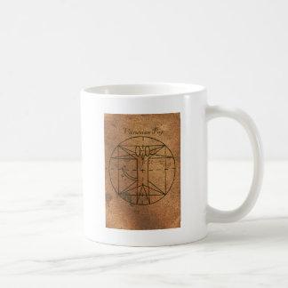 Vitruvian Welpe Kaffeetasse
