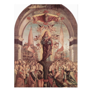 Vittore Carpaccio- Verherrlichung von St Ursula Postkarte