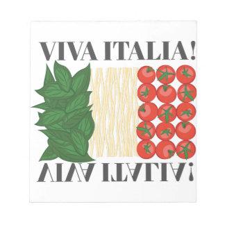 Viva Italien Notizblock