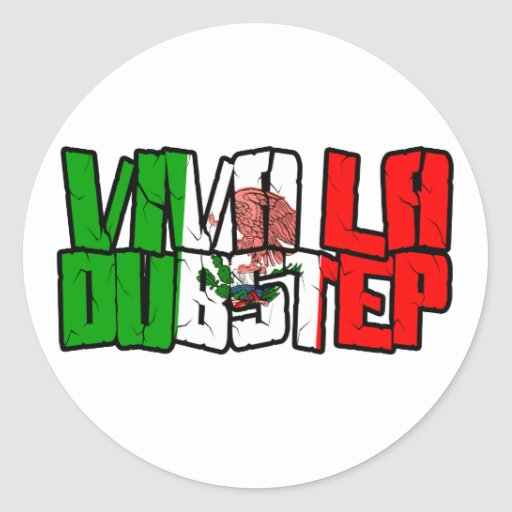 Viva La Dubstep Camisetas Sticker