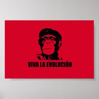 Viva La Evolucion Plakat
