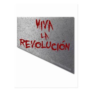 Viva La Revolucion Guillotine Postkarte