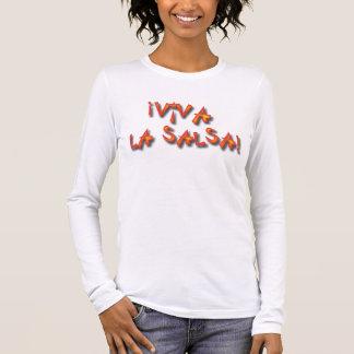 ¡ Viva La-Salsa! Langarm T-Shirt
