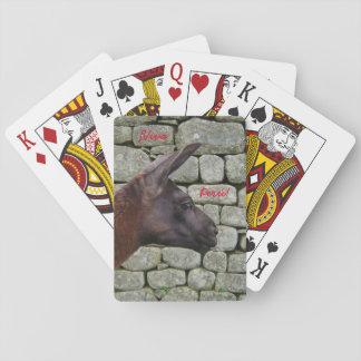 Viva Perú Lama-Spielkarten Spielkarten
