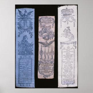 Vivat Bänder von Frederick II Poster