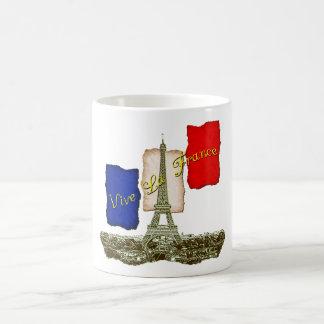 Vive La Frankreich Kaffeetasse