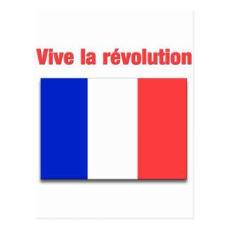 Vive La révolution Postkarte