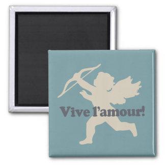 Vive L'amour Amormagneten Quadratischer Magnet